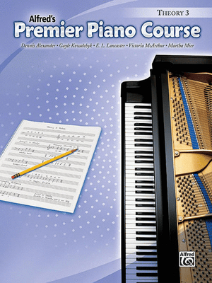 Alfred's Premier Piano Course, Theory 3 - Music Creators Online