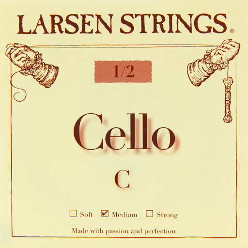 Larsen Cello String Set Medium 1/2 - Music Creators Online