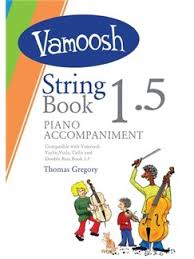 Vamoosh String Book 1.5 Piano Accompaniments - Music Creators Online