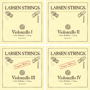 Larsen Cello String Set Medium 4/4 - Music Creators Online