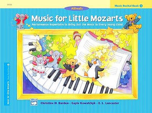 Music for Little Mozarts: Music Recital Book 3 - Music Creators Online