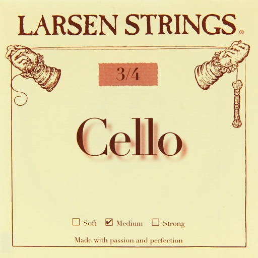Larsen Cello String Set Medium 3/4