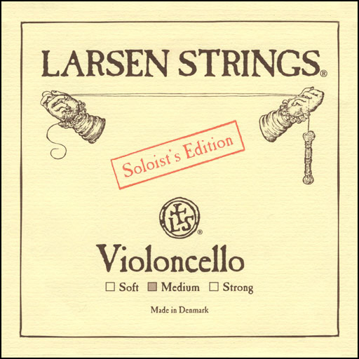 Larsen Cello Solo, (Med) D, 4/4