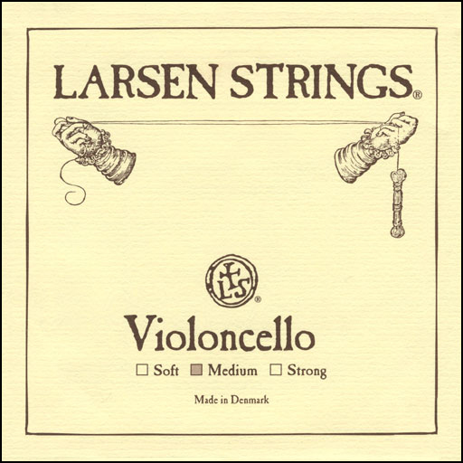 Larsen Cello D String- 3/4 (Med)