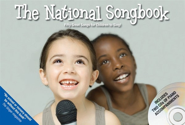 The National Song Book- Book 1 w CD Accompaniments - Music Creators Online
