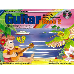 Progressive Guitar Method for Young Beginners BK2 w CD - Music Creators Online