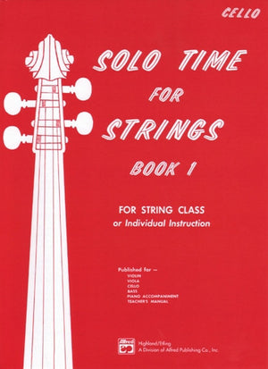 Solo Time for Strings BK 1 - Cello - Music Creators Online