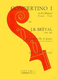 Breval Concertino No. 1 in F major for Cello and Piano - Music Creators Online