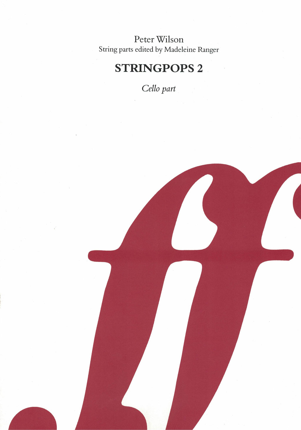 Stringpops Book 2 (Cello Part) - Music Creators Online