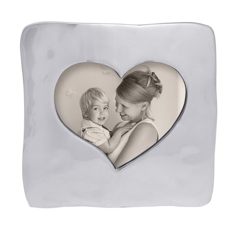 Large Square Open Heart Frame