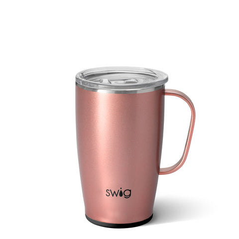 18oz Travel Mug - Rose Gold