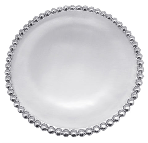 Pearled Small Round Platter