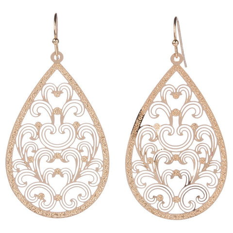 Fancy Filigree Earring