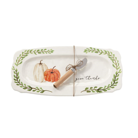 Give Thanks Serving Platter