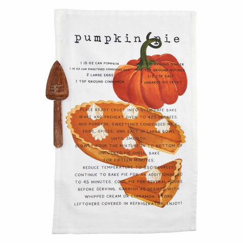 Recipe Towel Set-Pumpkin