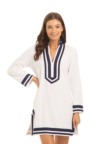 Terry Tunic- White