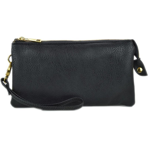 Crossbody Convertible Bag-Black