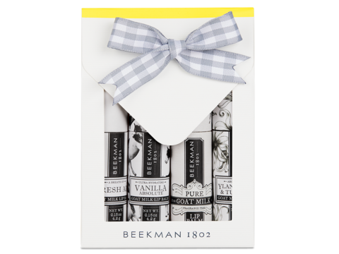 Beekman Clear As Day Lip Balm Set