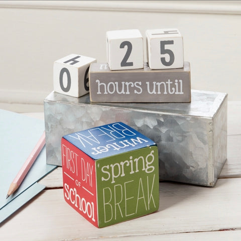 Teacher Countdown Blocks