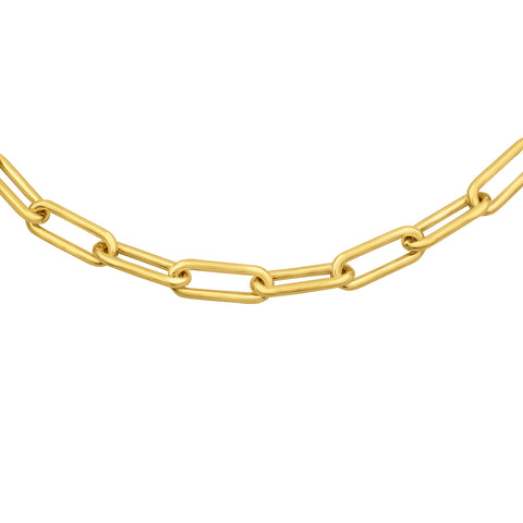 LOLA Oval Gold Vermeil Chain