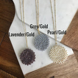 Crystal Pendant Necklace-Multiple Colors Available!