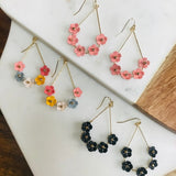 Floral Wire Earrings