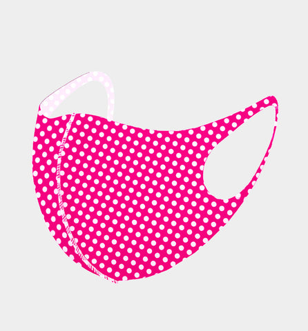 3D Fit Mask-Hot Pink