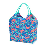 Crab Print Beach Bag