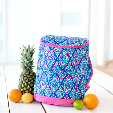 Gypsea Print Backpack Cooler