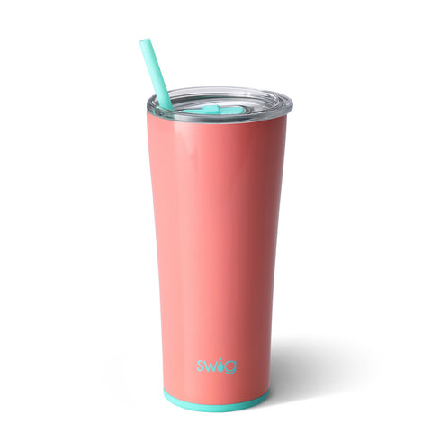 22oz Tumbler Dishwasher Safe - Melon