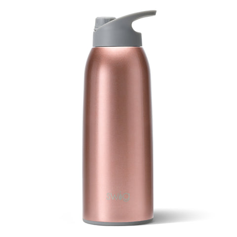 50 oz Wide Mouth Bottle Dishwasher Safe - Bar Rose Gold