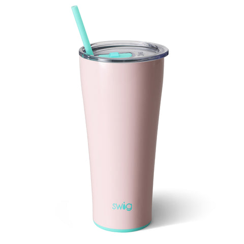 32oz Tumbler Dishwasher Safe - Blush