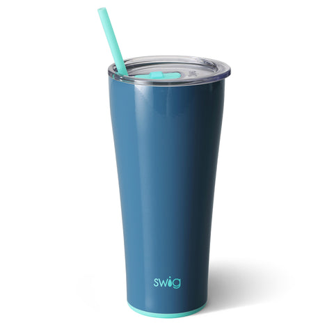 32oz Tumbler Dishwasher Safe - Denim