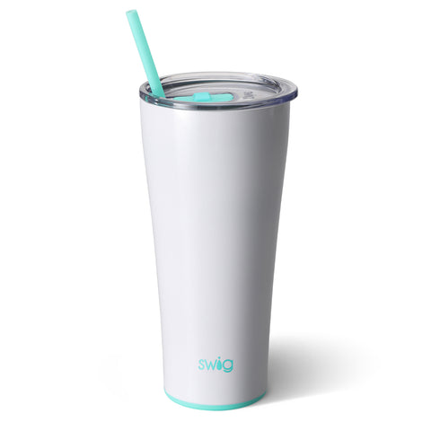 32oz Tumbler Dishwasher Safe - Diamond White