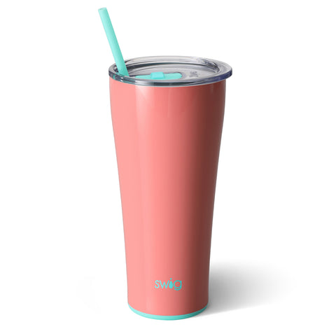 32oz Tumbler Dishwasher Safe - Melon