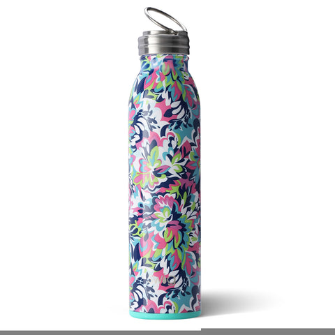 20 oz Bottle Dishwasher Safe - Frilly Lilly