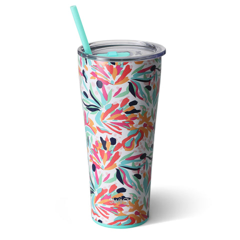 32oz Tumbler Dishwasher Safe - Wild Flower