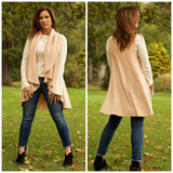 Cape Shawl Cardigan