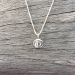 Petite Single Initial Charm Necklace