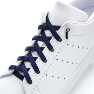 leazy flat laces - Navy