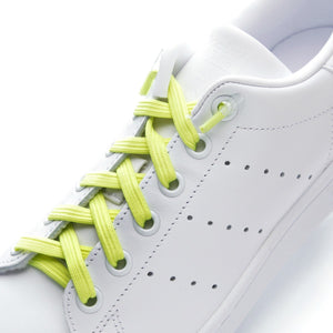 leazy flat laces - Neon yellow