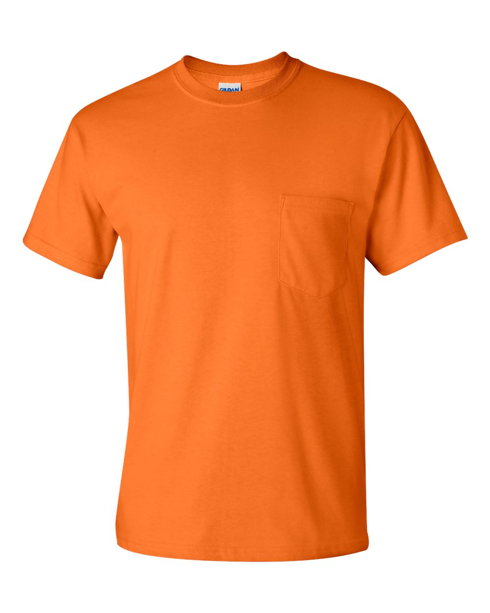 Gildan T-Shirt with a Pocket, Ultra Cotton - $