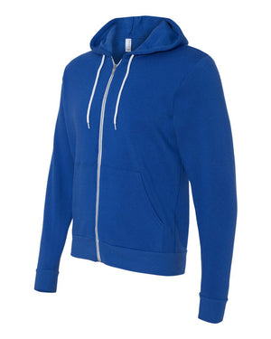 Bella + Canvas, Unisex Full-Zip Hooded Sweatshirt - $$