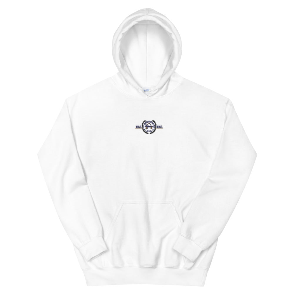Northwestern Embroided Hoodie