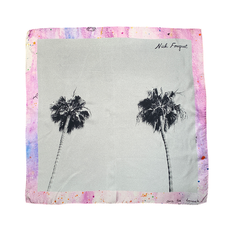NF Palm Tree Scarf