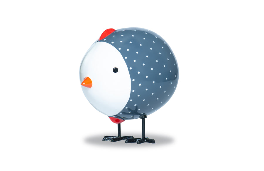 Dotted Chick - Grey - Art by Mele
