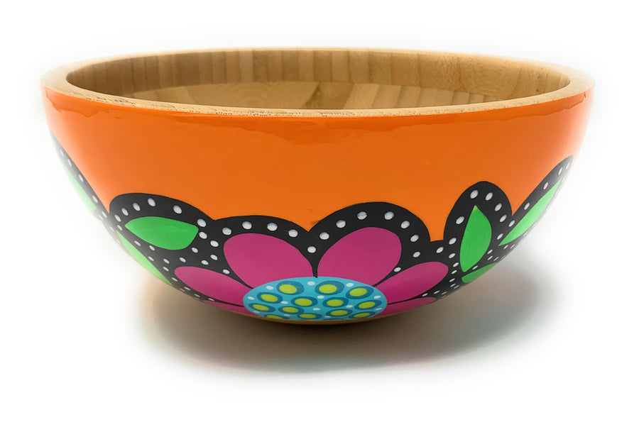 Serving Bowl - Orange - Art by Mele