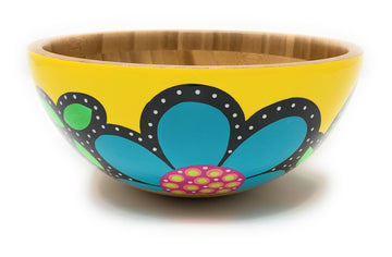 Serving Bowl - Yellow - Art by Mele