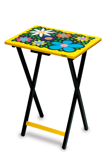 Folding Table - Yellow - Art by Mele