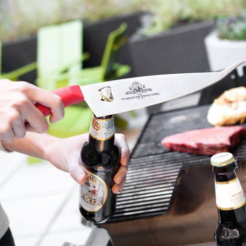 Image of Myron Mixon 3 in 1 Pitmaster Grill Tool by Ergo Chef - Premium Chef Knives